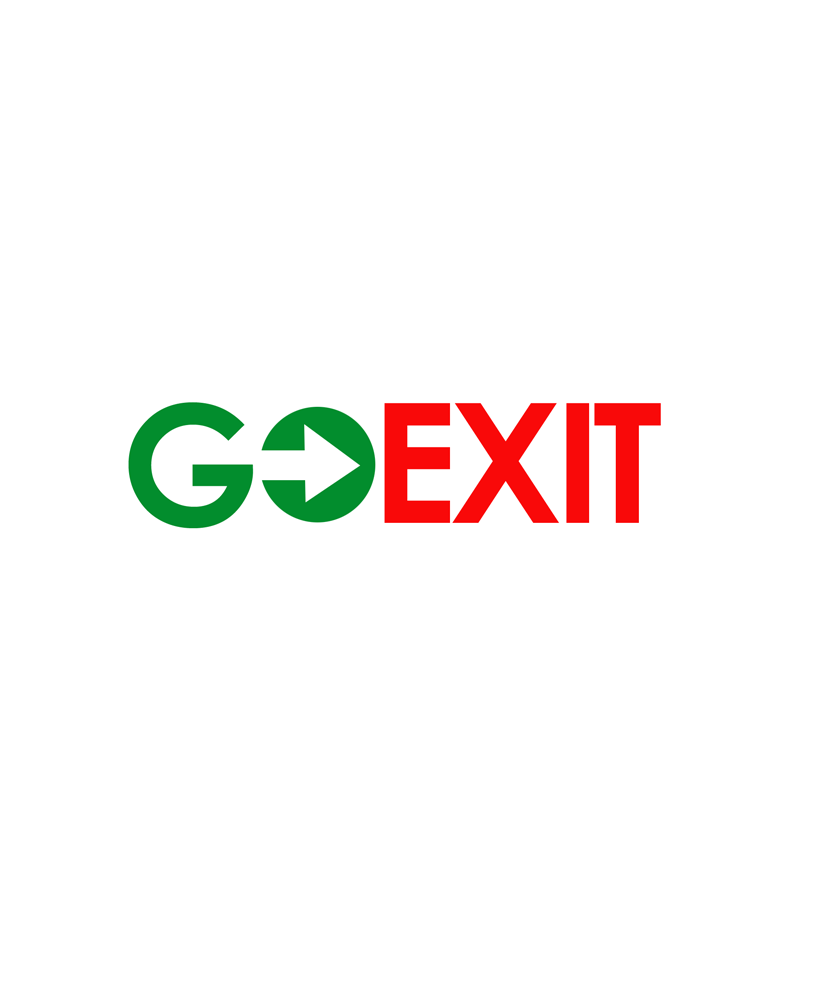 Logo Design by Private User - Entry No. 41 in the Logo Design Contest GoExit Logo Design.