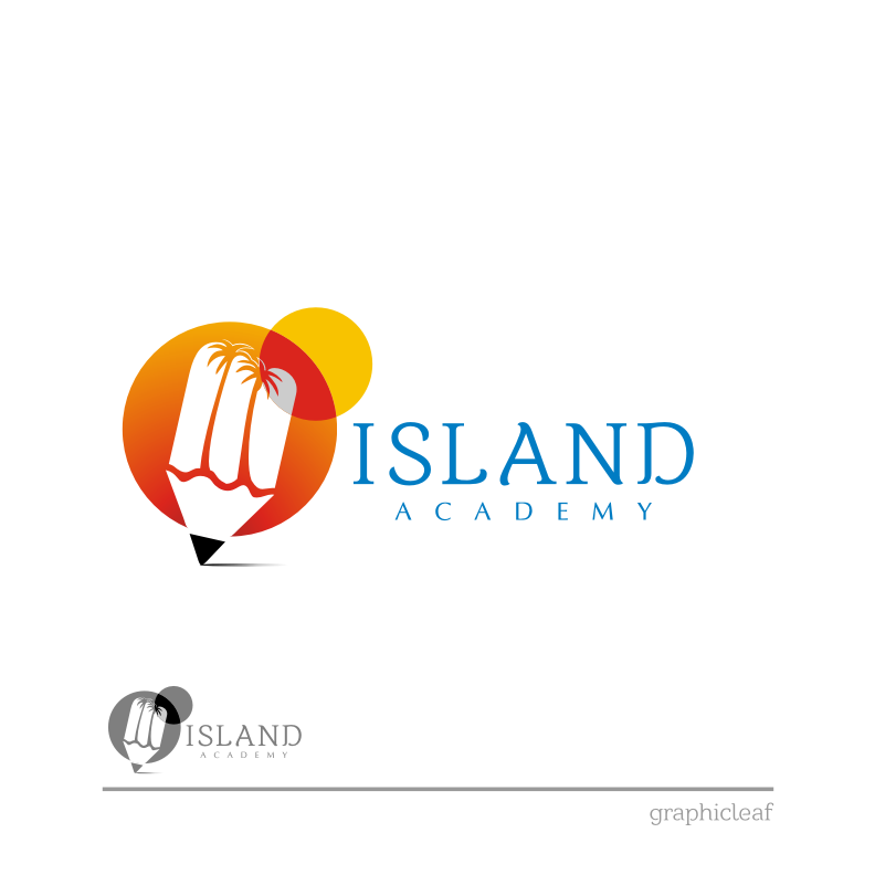 Logo Design by graphicleaf - Entry No. 94 in the Logo Design Contest New Logo Design for Island Academy.