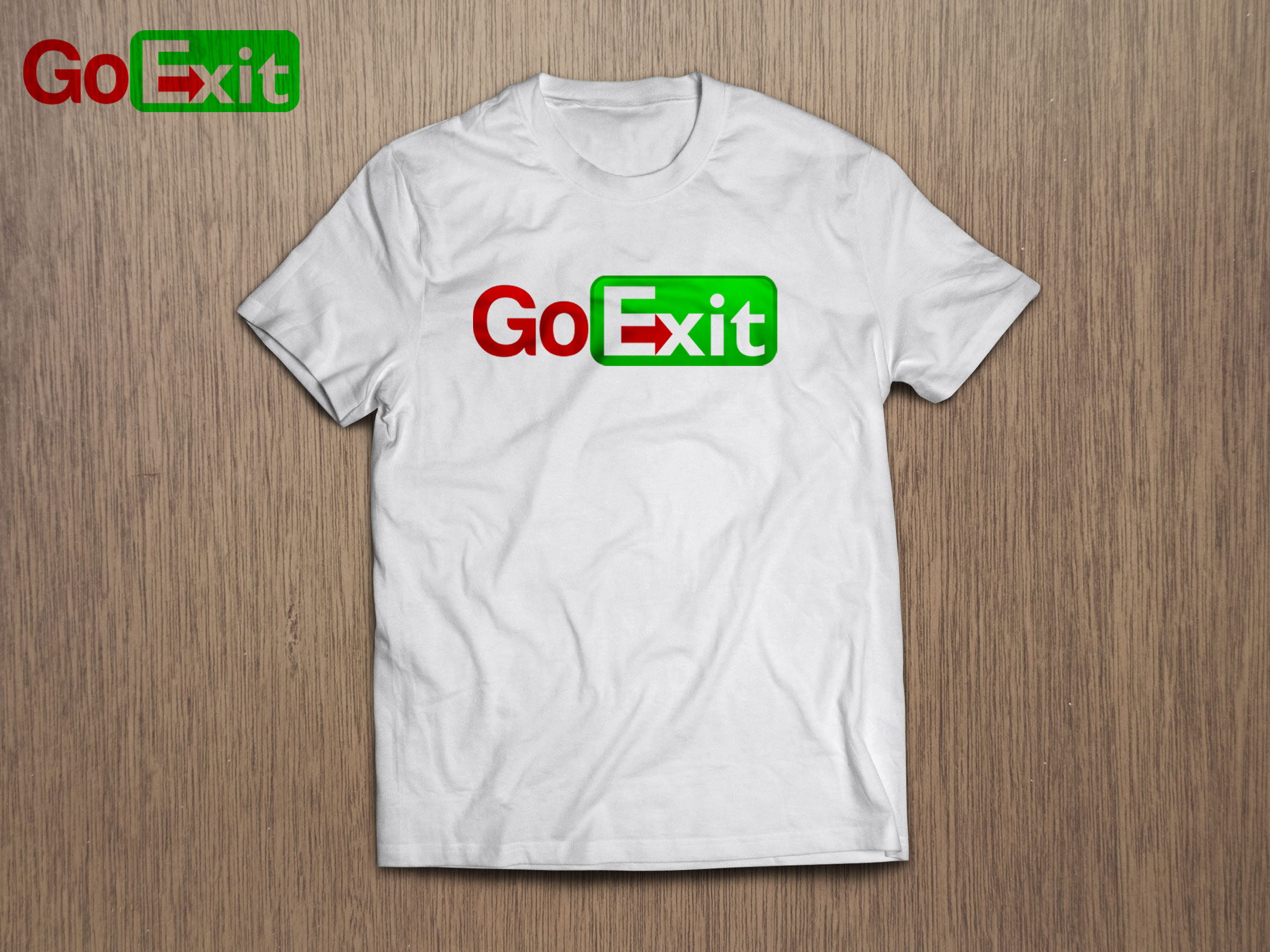 Logo Design by Juan Luna - Entry No. 44 in the Logo Design Contest GoExit Logo Design.