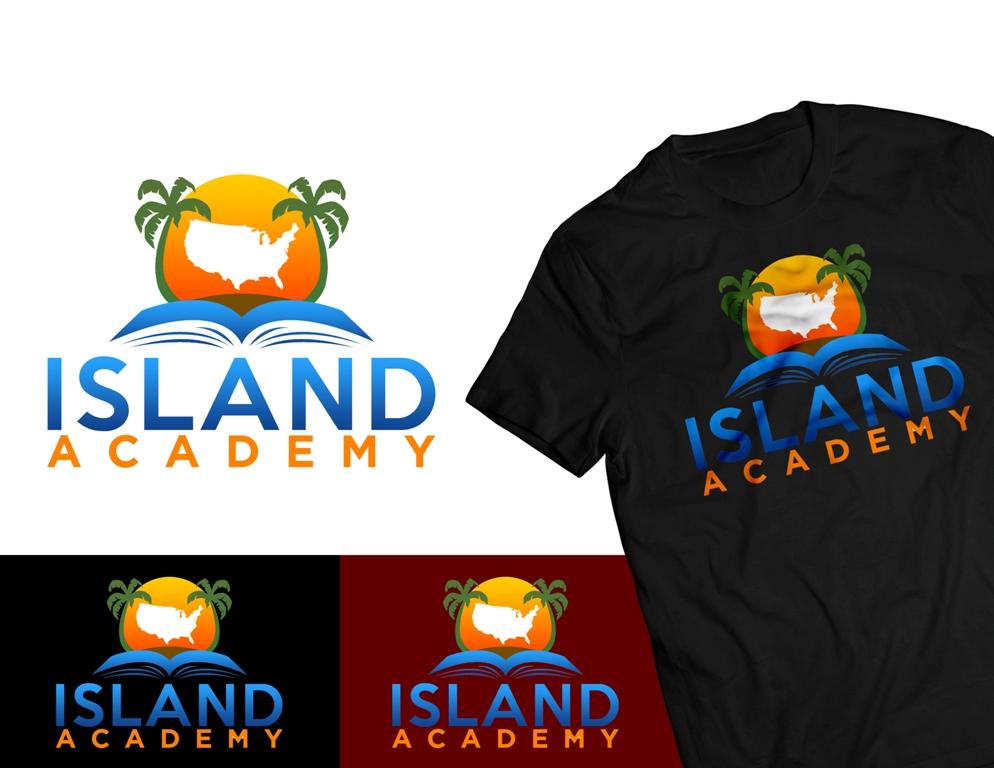Logo Design by Juan_Kata - Entry No. 95 in the Logo Design Contest New Logo Design for Island Academy.