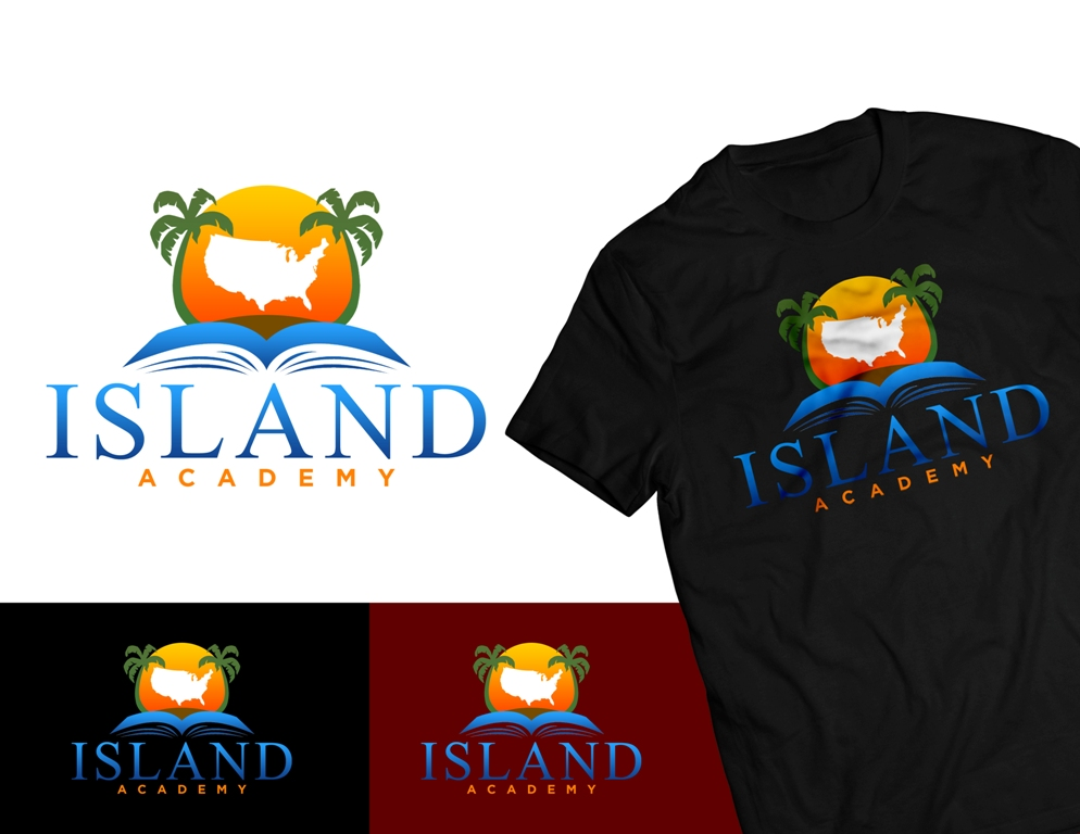 Logo Design by Juan_Kata - Entry No. 96 in the Logo Design Contest New Logo Design for Island Academy.