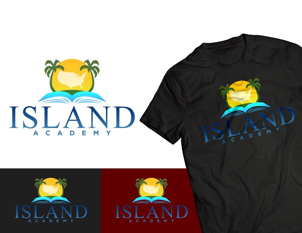 Logo Design by Juan_Kata - Entry No. 98 in the Logo Design Contest New Logo Design for Island Academy.