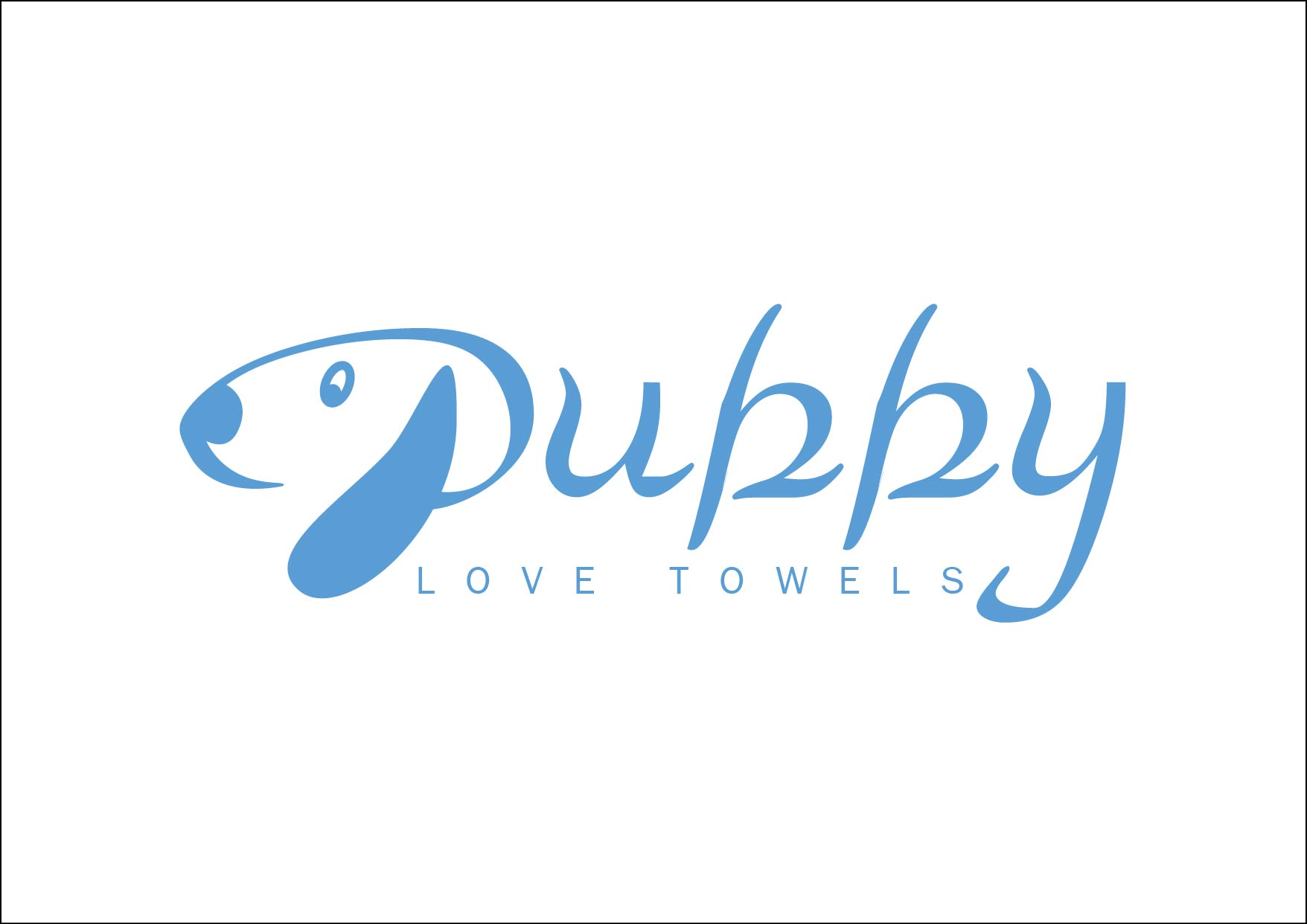 Logo Design by Yash Sindhav - Entry No. 34 in the Logo Design Contest Artistic Logo Design for Puppy Love Towels.