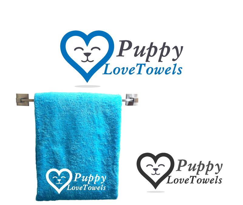 Logo Design by Private User - Entry No. 37 in the Logo Design Contest Artistic Logo Design for Puppy Love Towels.
