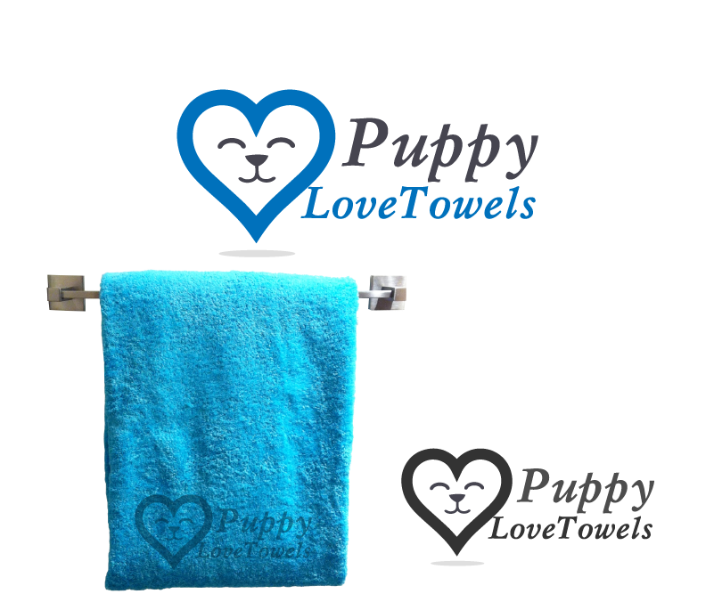 Logo Design by Private User - Entry No. 38 in the Logo Design Contest Artistic Logo Design for Puppy Love Towels.