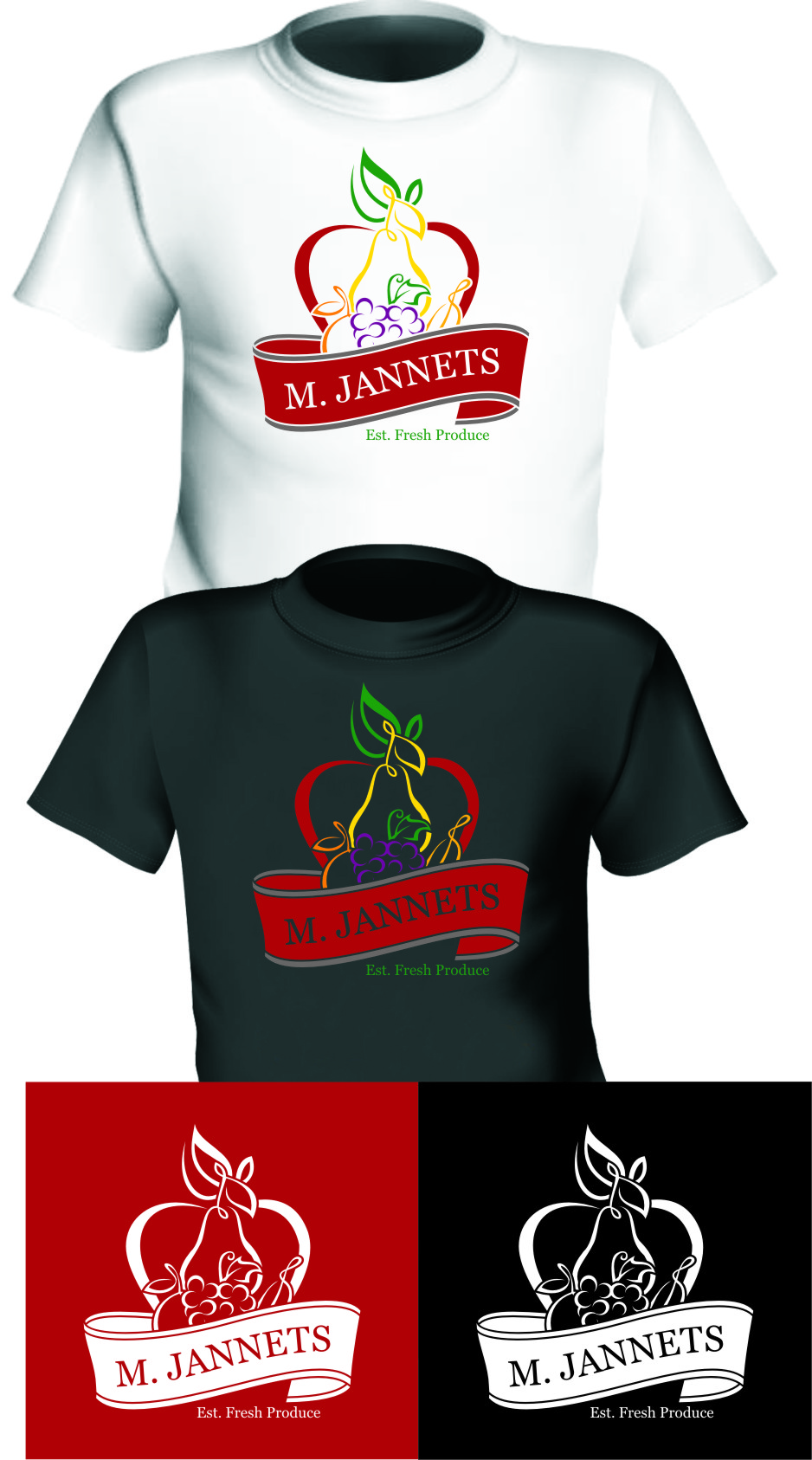 Logo Design by RasYa Muhammad Athaya - Entry No. 51 in the Logo Design Contest Inspiring Logo Design for M. Jannets.