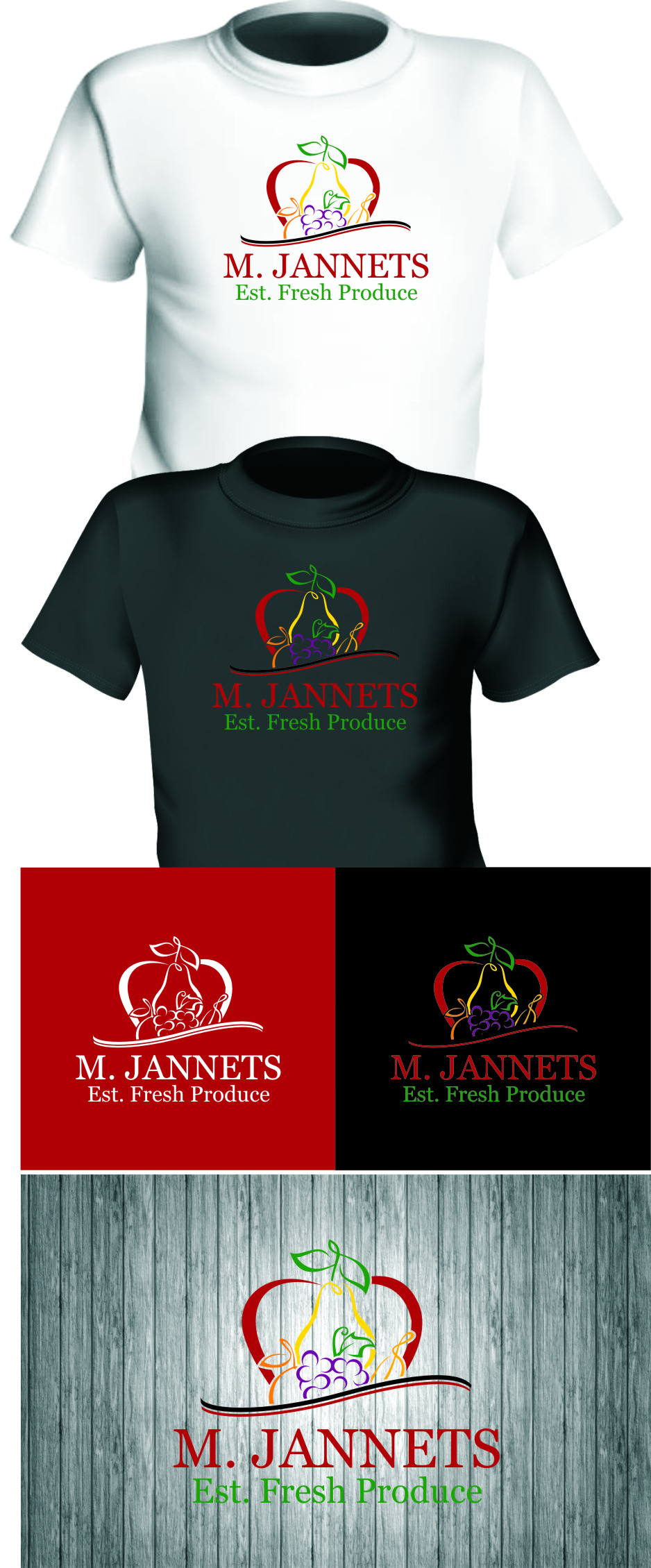 Logo Design by RasYa Muhammad Athaya - Entry No. 54 in the Logo Design Contest Inspiring Logo Design for M. Jannets.