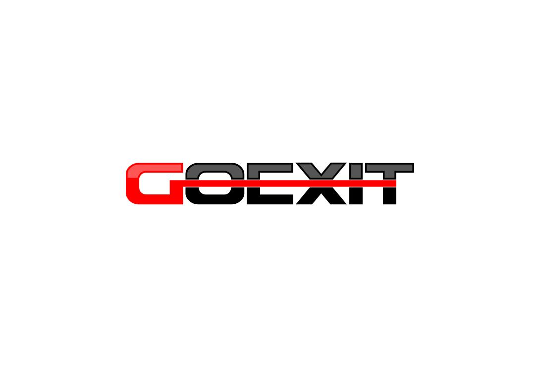 Logo Design by Agus Martoyo - Entry No. 46 in the Logo Design Contest GoExit Logo Design.
