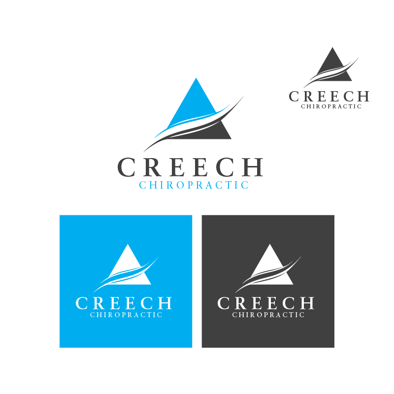 Logo Design by danelav - Entry No. 10 in the Logo Design Contest Imaginative Logo Design for Creech Chiropractic.