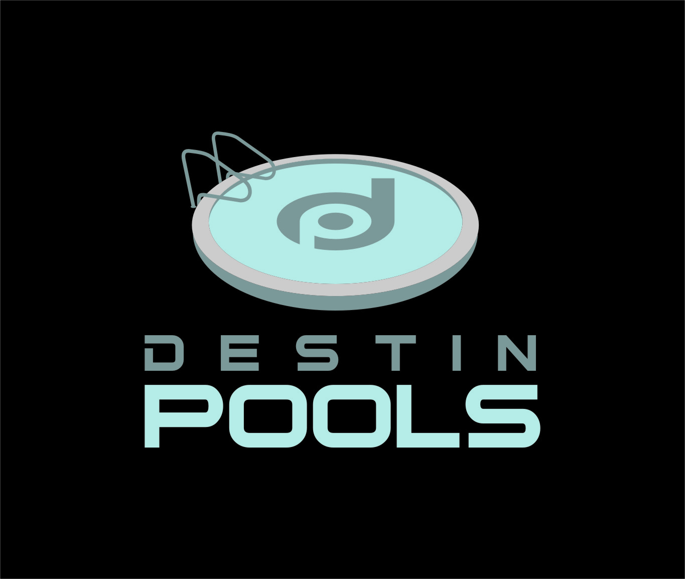 Logo Design by RoSyid Rono-Rene On Java - Entry No. 58 in the Logo Design Contest Fun Logo Design for Destin Pools.