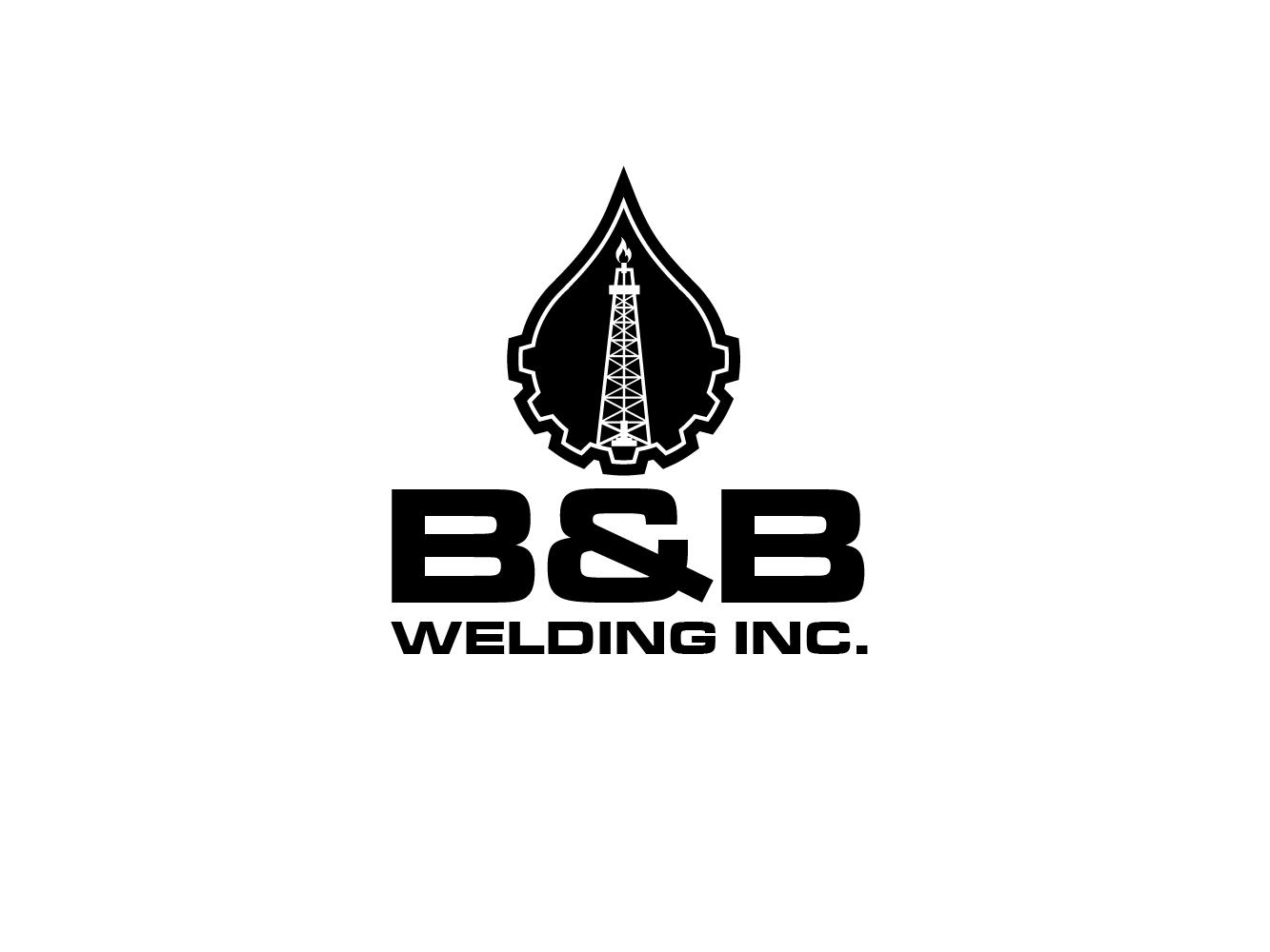 Logo Design by Cutris Lotter - Entry No. 10 in the Logo Design Contest Fun Logo Design for B&B Welding Inc..