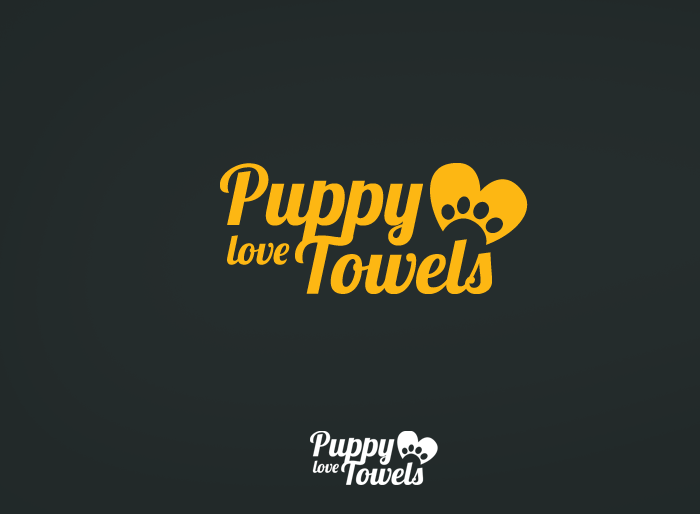 Logo Design by Jan Chua - Entry No. 53 in the Logo Design Contest Artistic Logo Design for Puppy Love Towels.