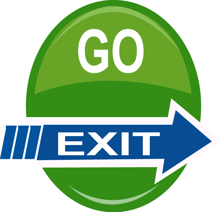 Logo Design by Bhaskar Singh - Entry No. 54 in the Logo Design Contest GoExit Logo Design.