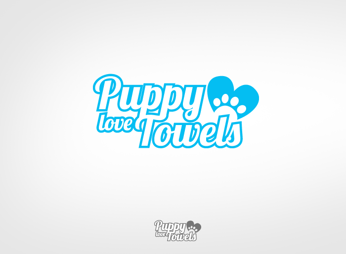 Logo Design by Jan Chua - Entry No. 58 in the Logo Design Contest Artistic Logo Design for Puppy Love Towels.