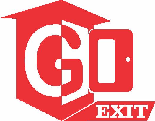 Logo Design by Mokhamad Ngabduloh - Entry No. 55 in the Logo Design Contest GoExit Logo Design.