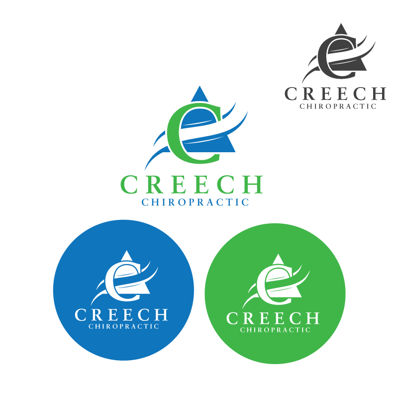 Logo Design by danelav - Entry No. 20 in the Logo Design Contest Imaginative Logo Design for Creech Chiropractic.