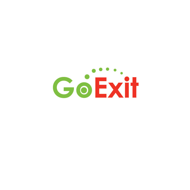 Logo Design by Private User - Entry No. 56 in the Logo Design Contest GoExit Logo Design.