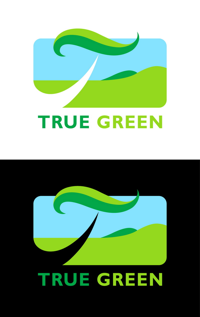 Logo Design by t-sign703 - Entry No. 5 in the Logo Design Contest Fun Logo Design for TRUE GREEN.