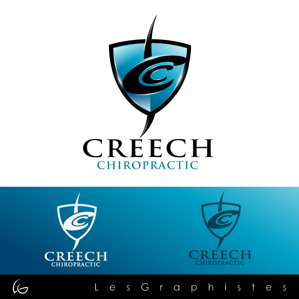 Logo Design by Les-Graphistes - Entry No. 28 in the Logo Design Contest Imaginative Logo Design for Creech Chiropractic.