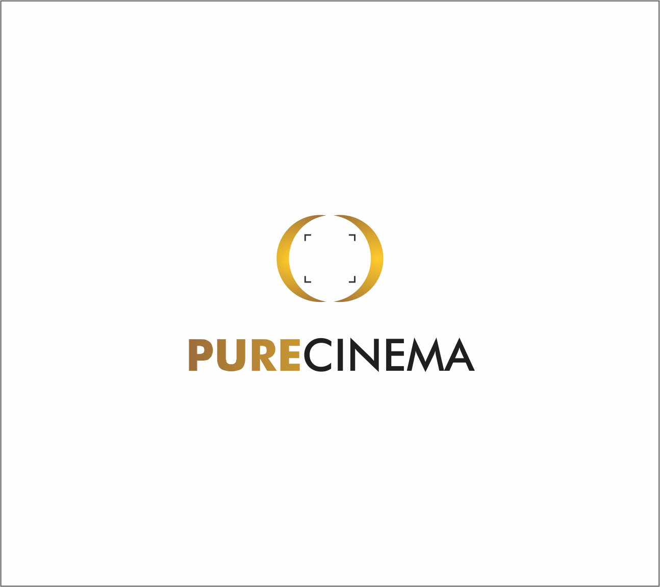 Logo Design by Armada Jamaluddin - Entry No. 47 in the Logo Design Contest Imaginative Logo Design for Pure Cinema.