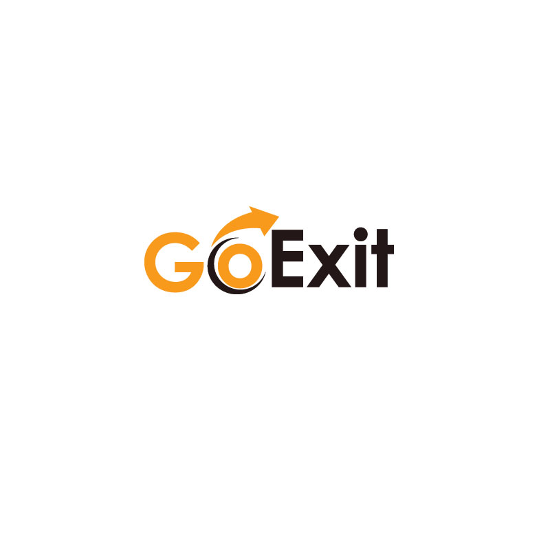 Logo Design by Private User - Entry No. 58 in the Logo Design Contest GoExit Logo Design.