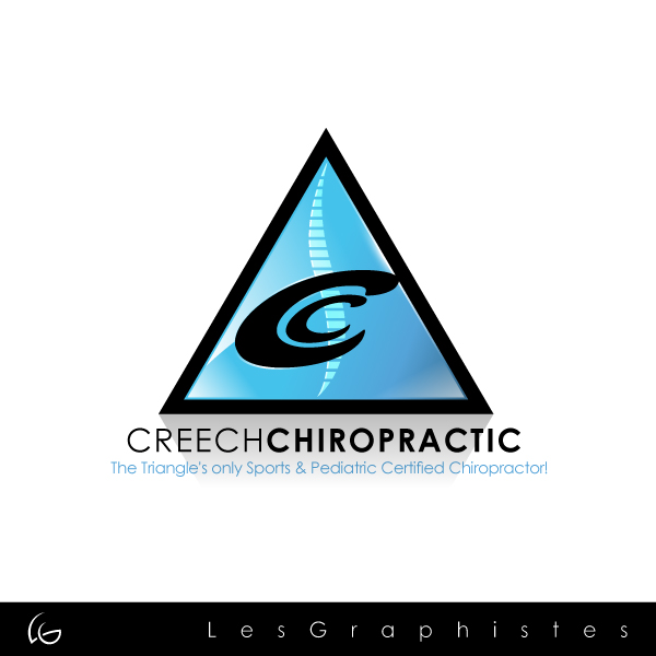 Logo Design by Les-Graphistes - Entry No. 29 in the Logo Design Contest Imaginative Logo Design for Creech Chiropractic.