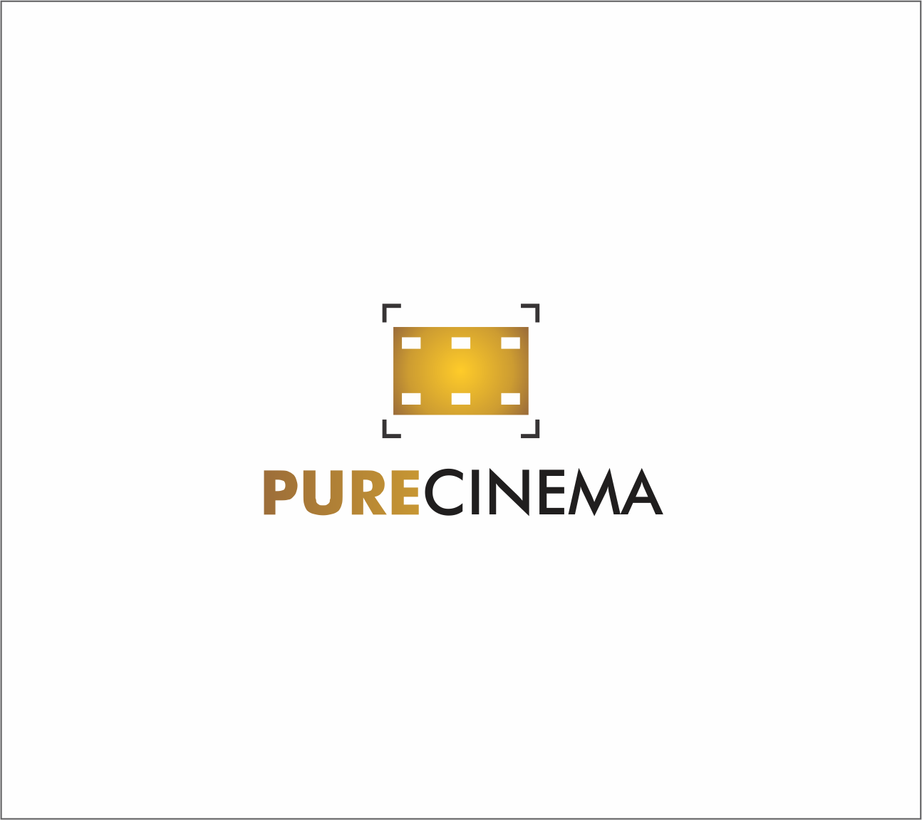 Logo Design by Armada Jamaluddin - Entry No. 48 in the Logo Design Contest Imaginative Logo Design for Pure Cinema.