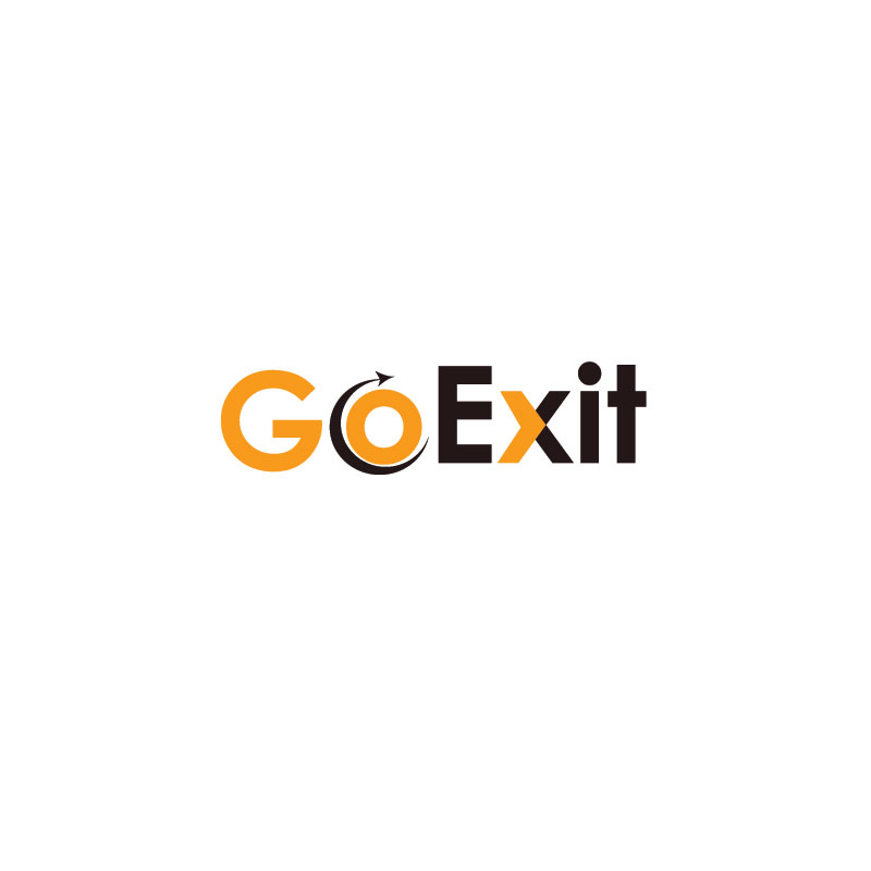 Logo Design by Private User - Entry No. 59 in the Logo Design Contest GoExit Logo Design.