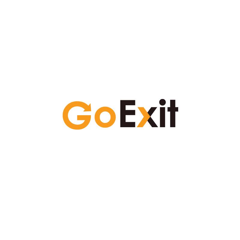 Logo Design by Private User - Entry No. 60 in the Logo Design Contest GoExit Logo Design.