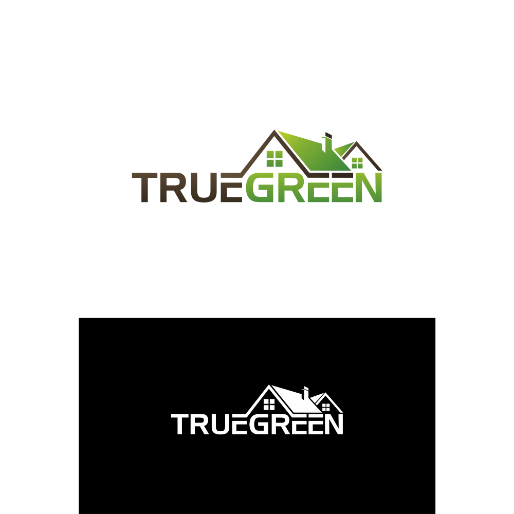 Logo Design by blue09 - Entry No. 8 in the Logo Design Contest Fun Logo Design for TRUE GREEN.