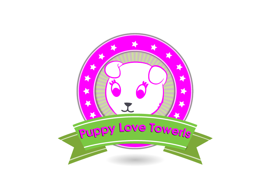 Logo Design by Private User - Entry No. 66 in the Logo Design Contest Artistic Logo Design for Puppy Love Towels.