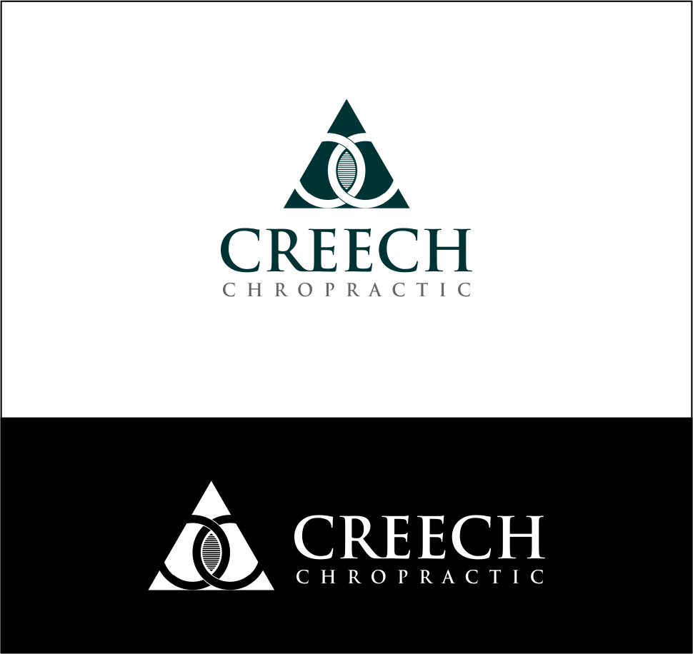 Logo Design by Agus Martoyo - Entry No. 30 in the Logo Design Contest Imaginative Logo Design for Creech Chiropractic.