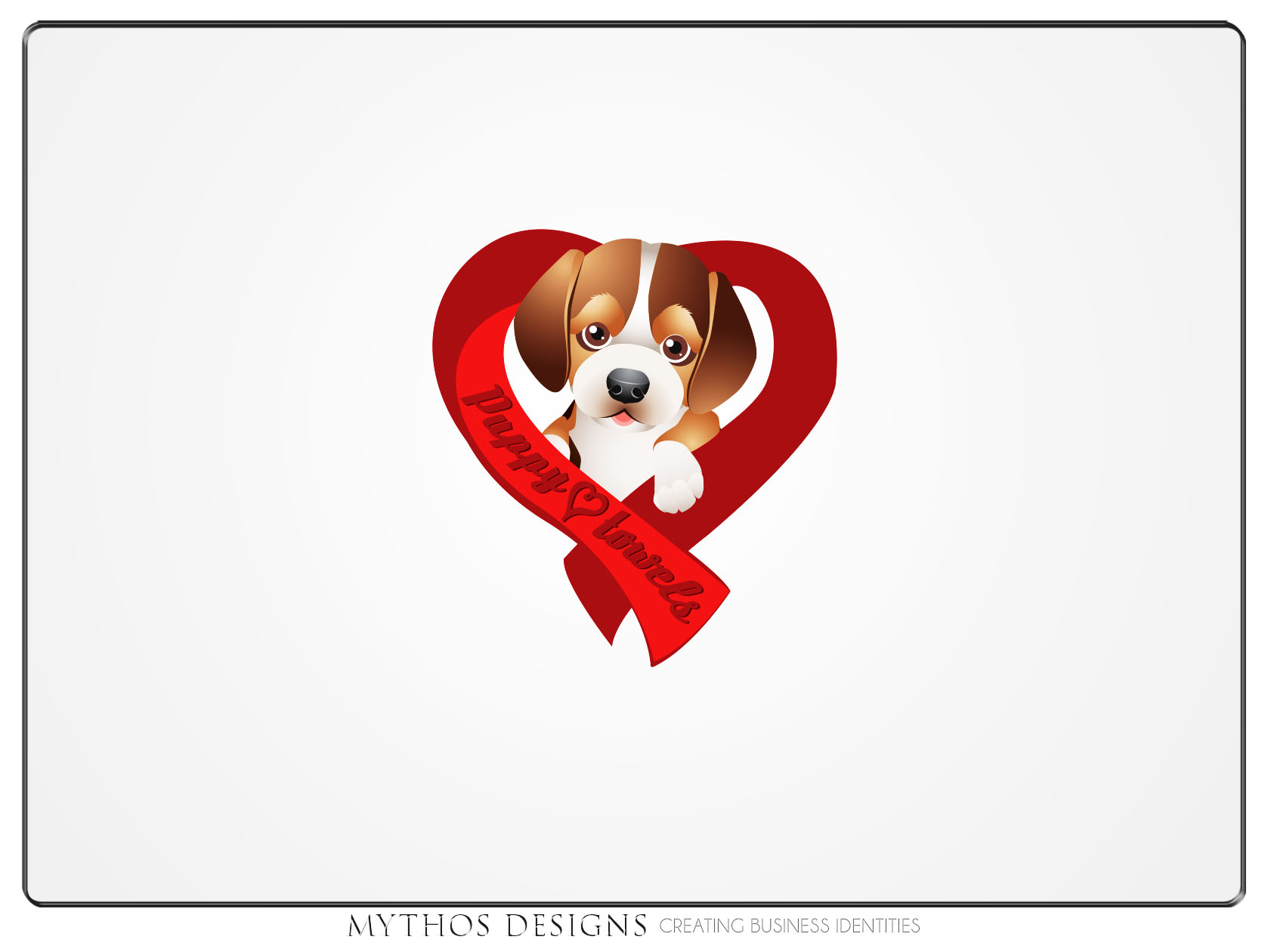 Logo Design by Mythos Designs - Entry No. 71 in the Logo Design Contest Artistic Logo Design for Puppy Love Towels.