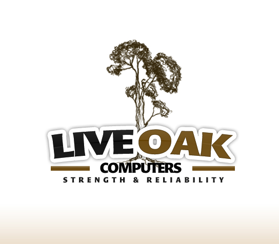 Logo Design by rockpinoy - Entry No. 35 in the Logo Design Contest Live Oak Computers.