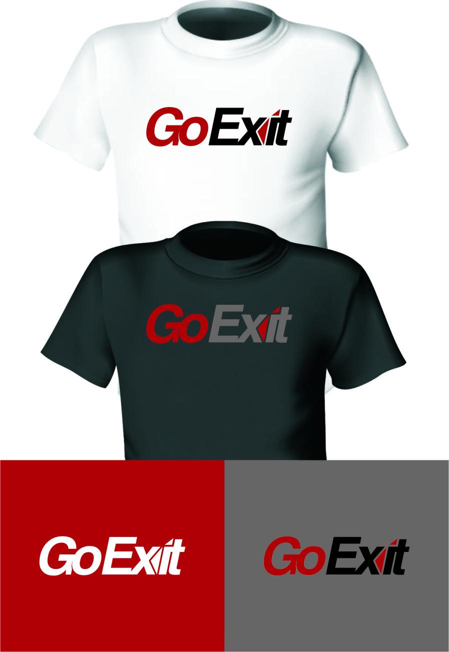 Logo Design by Ngepet_art - Entry No. 66 in the Logo Design Contest GoExit Logo Design.
