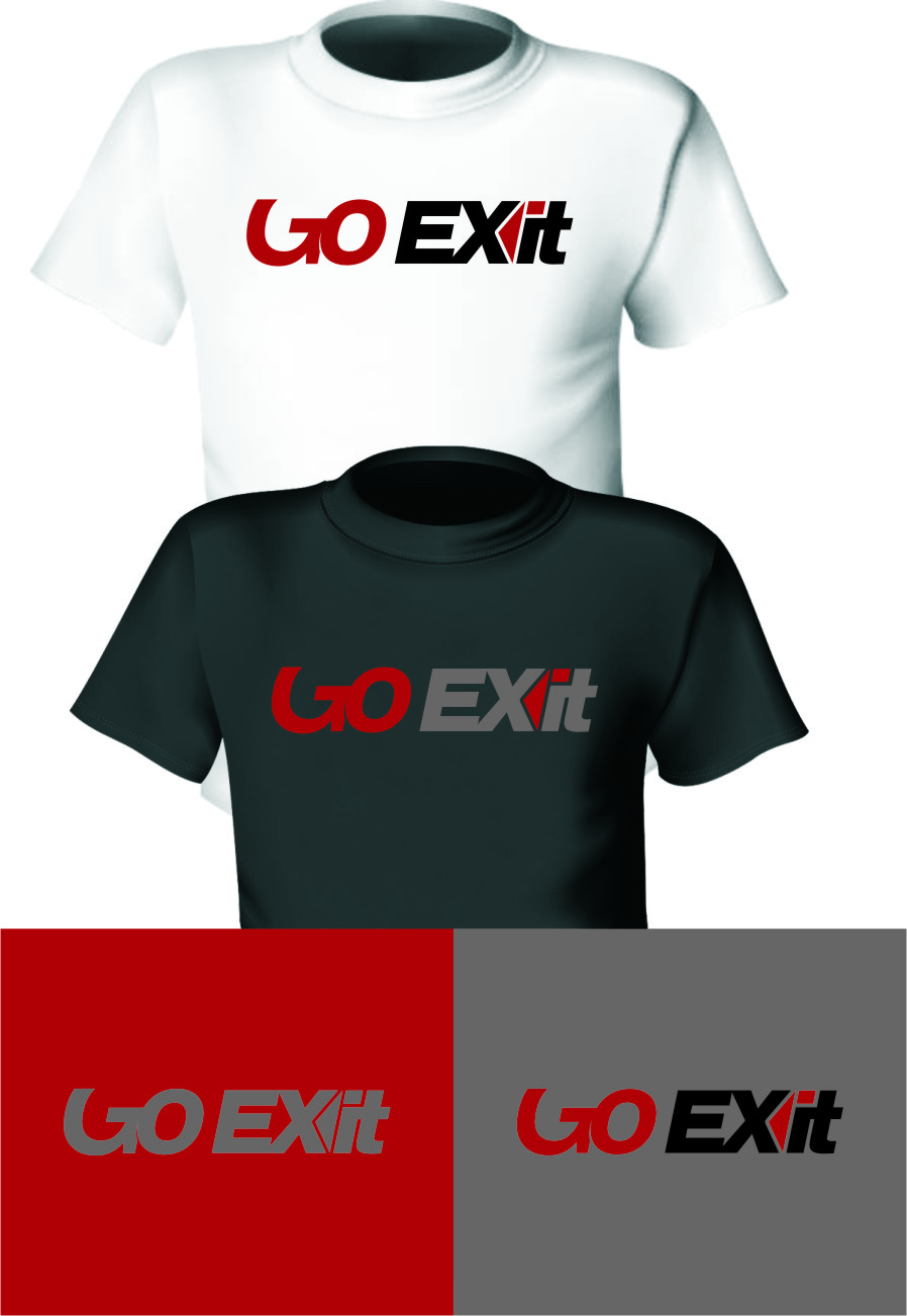 Logo Design by RoSyid Rono-Rene On Java - Entry No. 67 in the Logo Design Contest GoExit Logo Design.