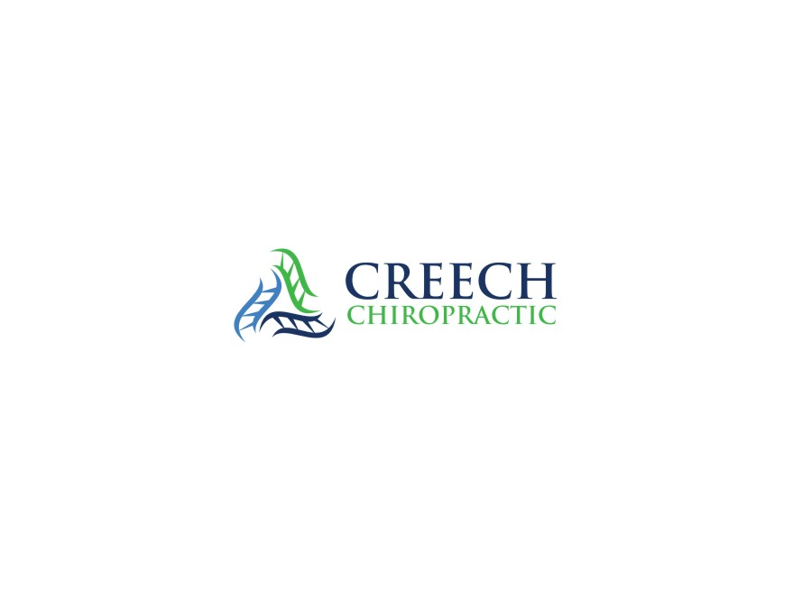 Logo Design by untung - Entry No. 35 in the Logo Design Contest Imaginative Logo Design for Creech Chiropractic.