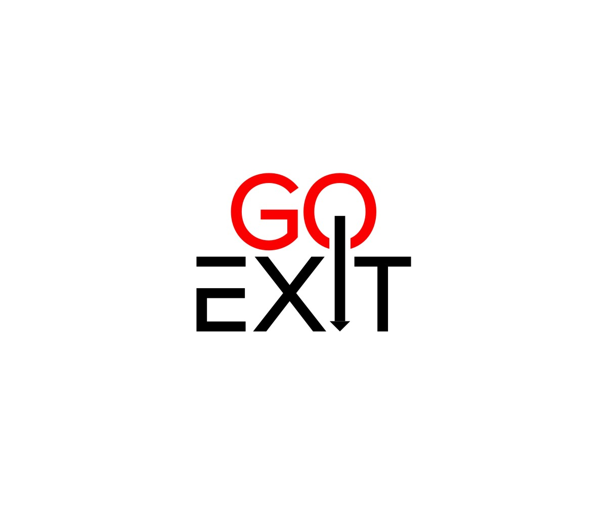 Logo Design by untung - Entry No. 75 in the Logo Design Contest GoExit Logo Design.