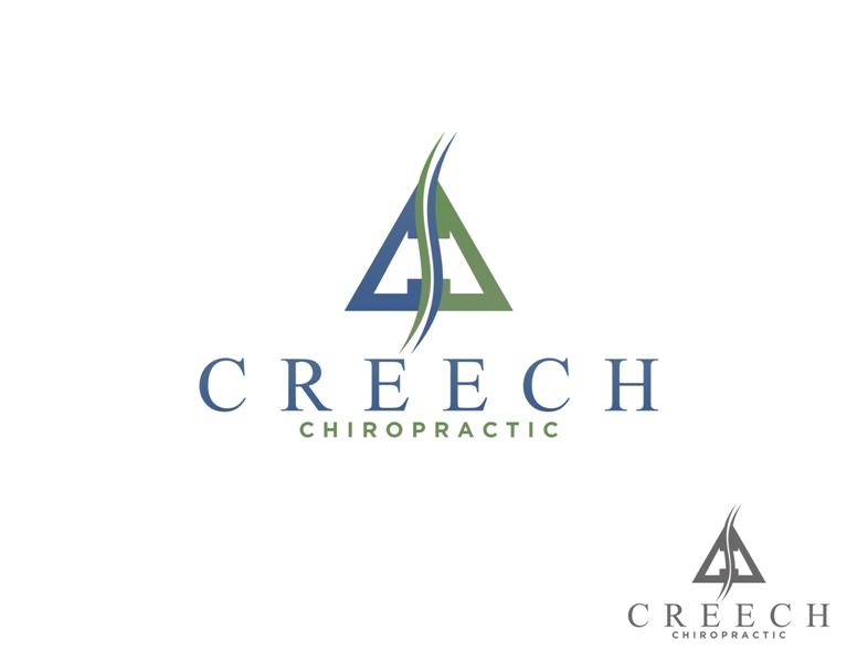 Logo Design by Juan_Kata - Entry No. 37 in the Logo Design Contest Imaginative Logo Design for Creech Chiropractic.