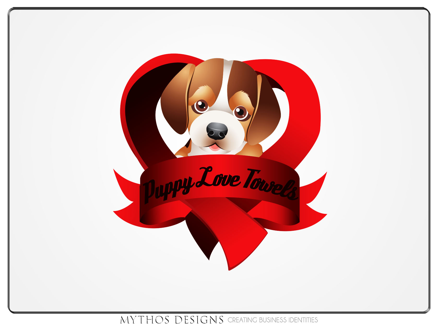 Logo Design by Mythos Designs - Entry No. 75 in the Logo Design Contest Artistic Logo Design for Puppy Love Towels.