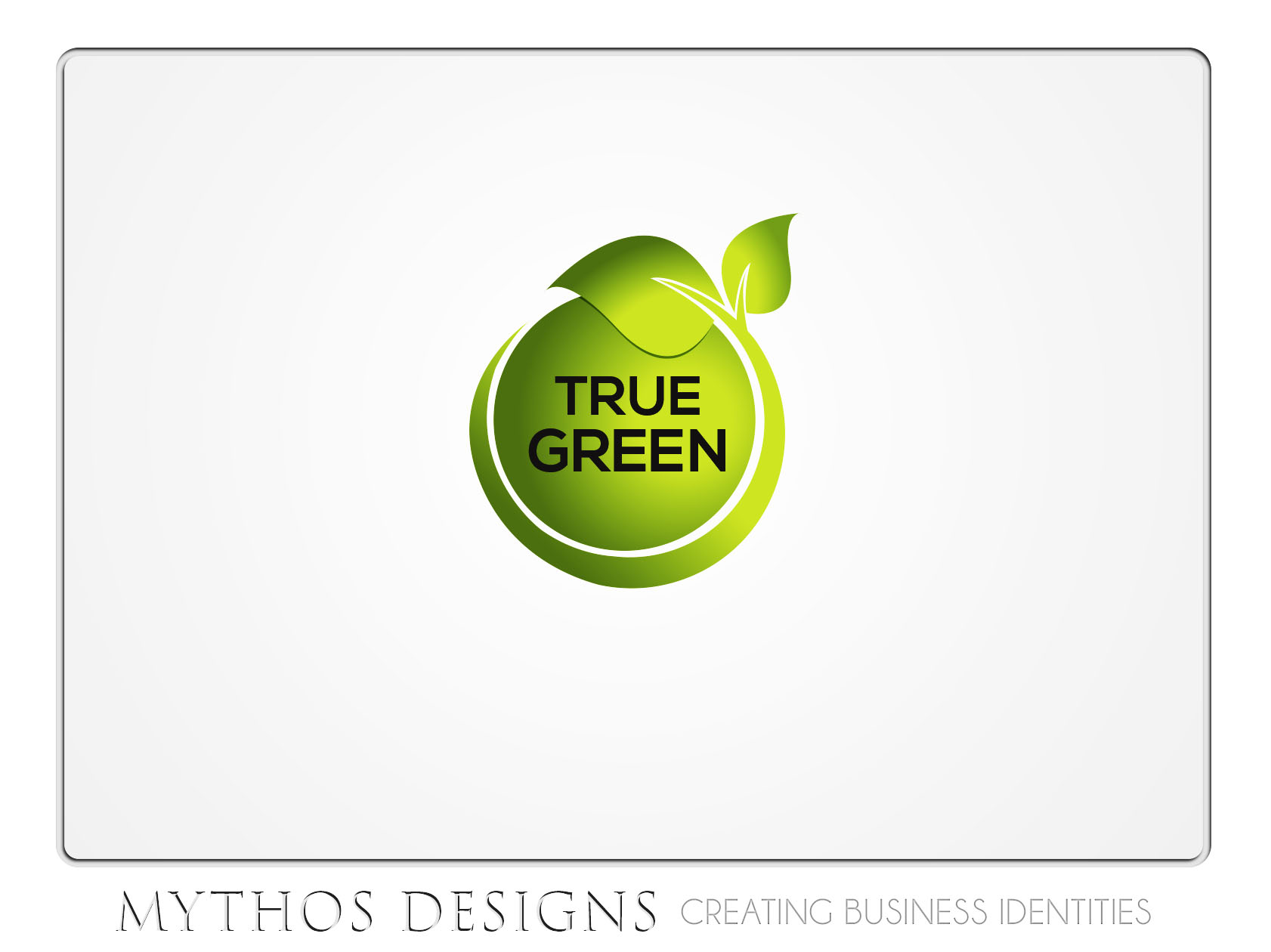 Logo Design by Mythos Designs - Entry No. 23 in the Logo Design Contest Fun Logo Design for TRUE GREEN.