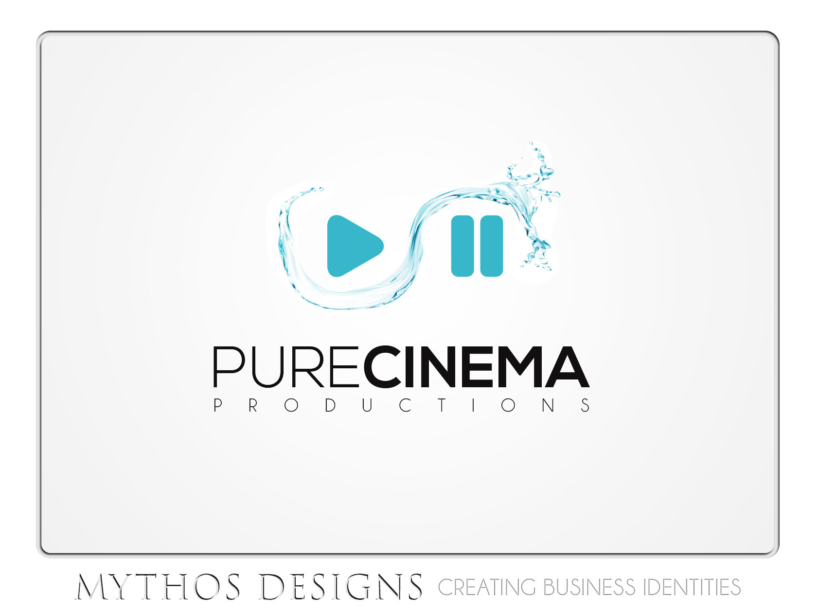 Logo Design by Mythos Designs - Entry No. 50 in the Logo Design Contest Imaginative Logo Design for Pure Cinema.