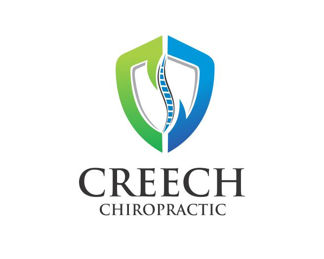 Logo Design by ronny - Entry No. 41 in the Logo Design Contest Imaginative Logo Design for Creech Chiropractic.