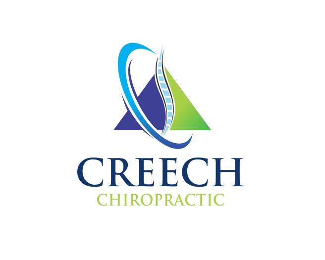 Logo Design by ronny - Entry No. 42 in the Logo Design Contest Imaginative Logo Design for Creech Chiropractic.