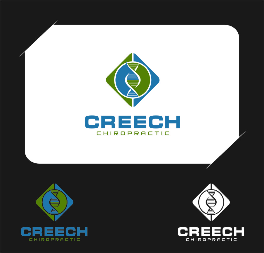 Logo Design by Ngepet_art - Entry No. 43 in the Logo Design Contest Imaginative Logo Design for Creech Chiropractic.