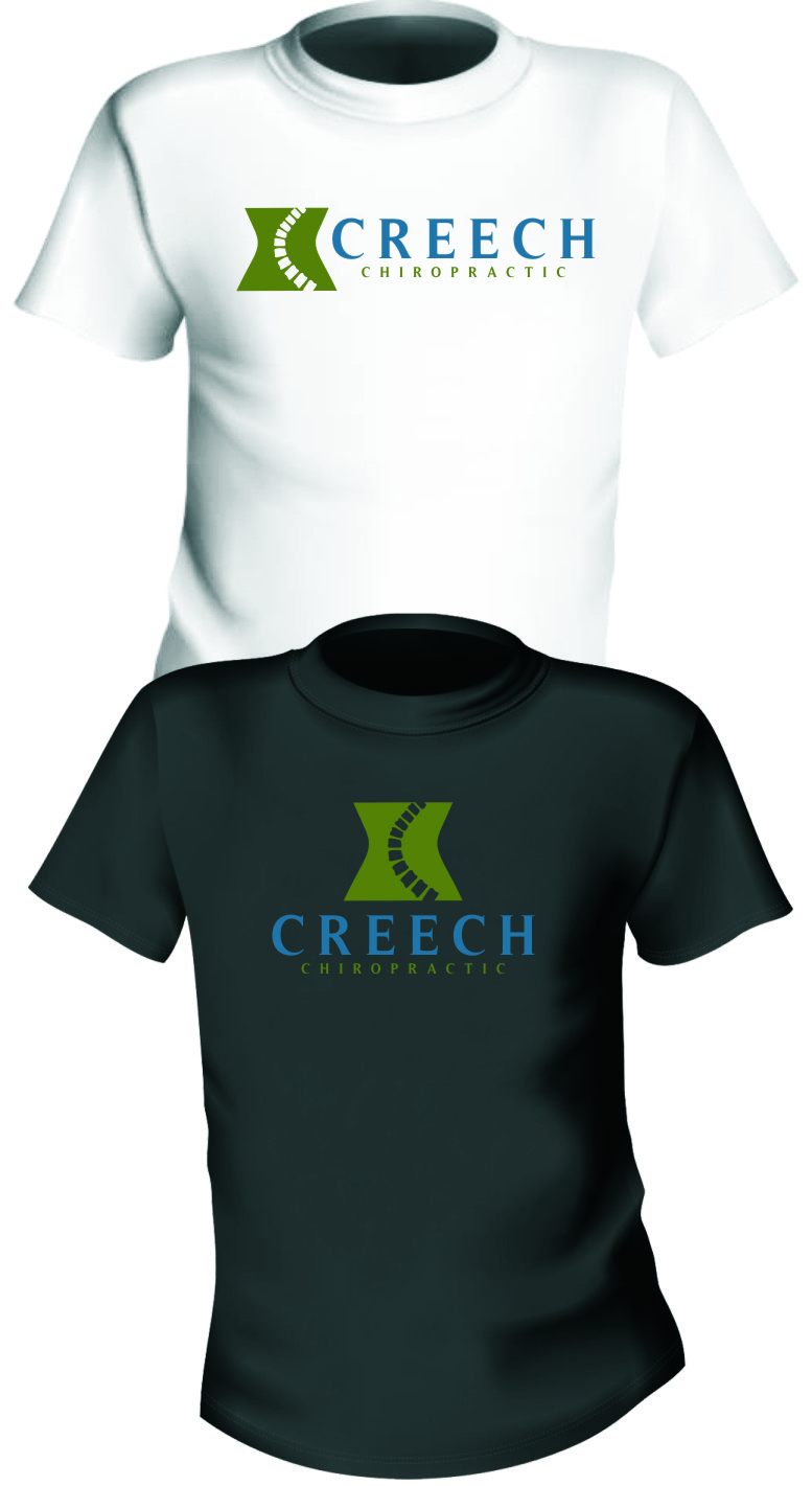 Logo Design by Ngepet_art - Entry No. 46 in the Logo Design Contest Imaginative Logo Design for Creech Chiropractic.