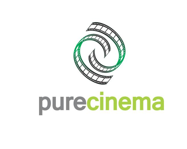 Logo Design by ronny - Entry No. 54 in the Logo Design Contest Imaginative Logo Design for Pure Cinema.