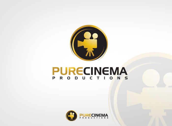 Logo Design by Jan Chua - Entry No. 55 in the Logo Design Contest Imaginative Logo Design for Pure Cinema.
