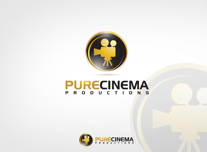 Logo Design by Jan Chua - Entry No. 56 in the Logo Design Contest Imaginative Logo Design for Pure Cinema.