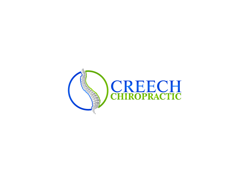 Logo Design by brands_in - Entry No. 50 in the Logo Design Contest Imaginative Logo Design for Creech Chiropractic.